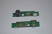 Шлейф (Flat cable) с коннектором зарядки, гарнитуры для Lenovo IdeaTab A2107 | A2207