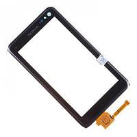Сенсор Nokia N8 с рамкой Black (copy)
