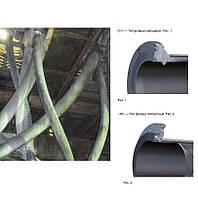 Труба резиновая абразивостойкая (пульпопровод)
