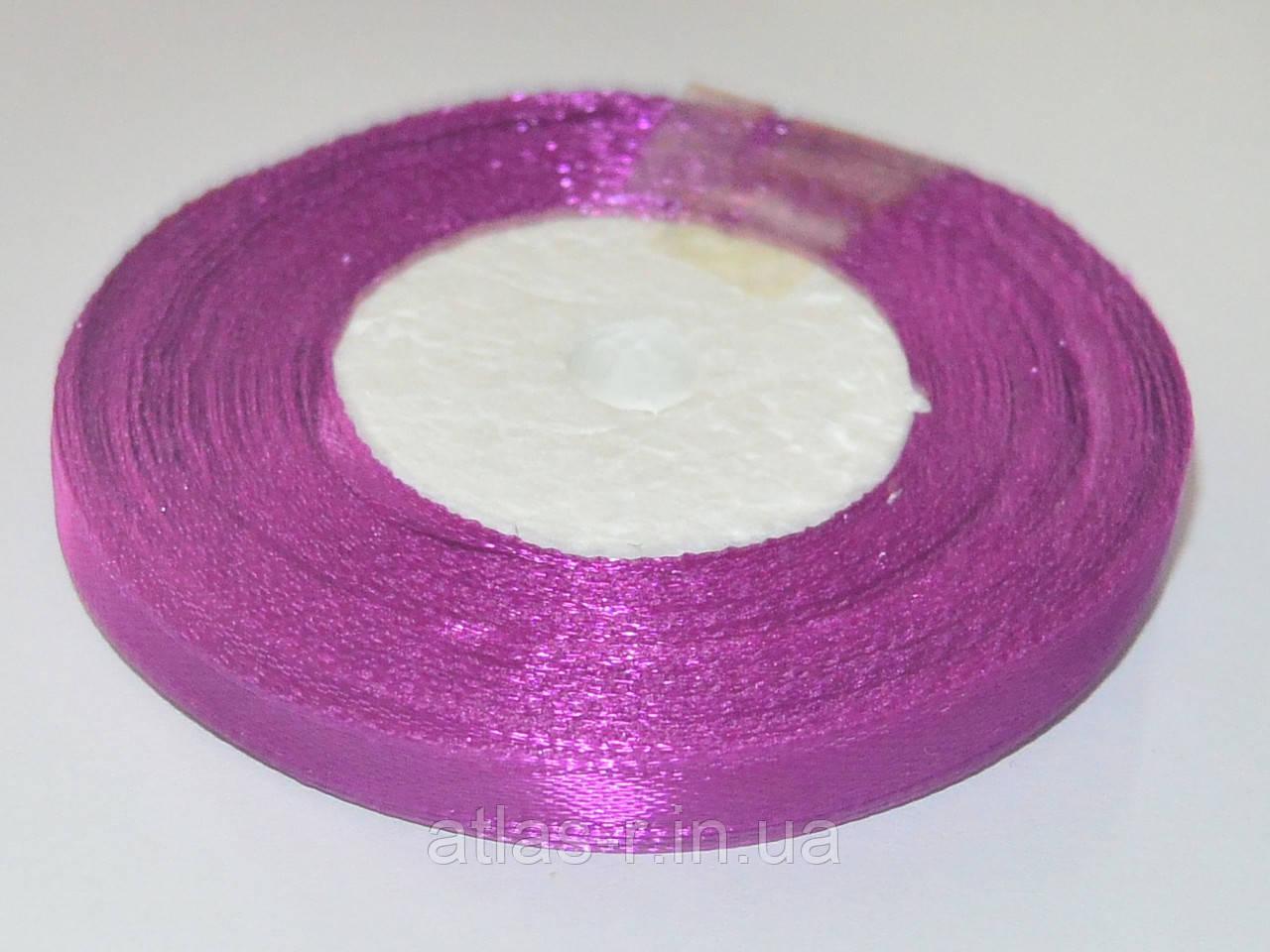 Фиолетовый атласная лента 7мм 23м