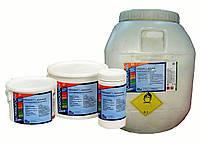 Мультитаб 3 в 1 дезинфекция, борьба с водорослями, коагуляция взвешенных частиц, стабилизация рН, Multitab