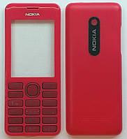 Корпус AAA для телефона Nokia 206 Asha, panel, красный