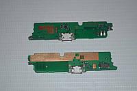 Шлейф (Flat cable) с коннектором зарядки, микрофона для Lenovo A859