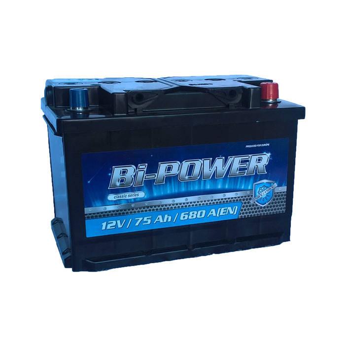 Акумулятор Bi-Power Classic 75Ah 680 А[EN] (-/+), фото 2