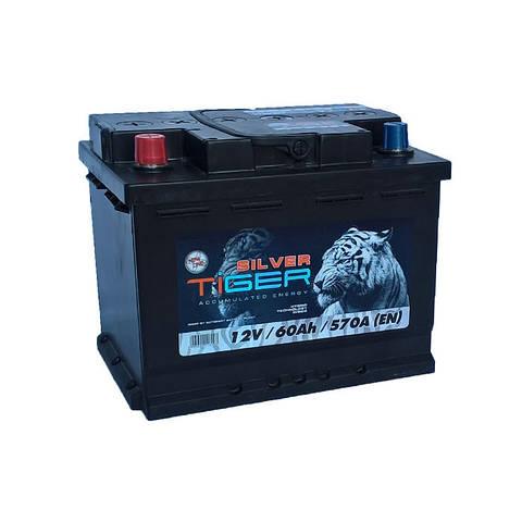 Акумулятор Tiger Silver 60Ah 570 A[EN] (+/-)