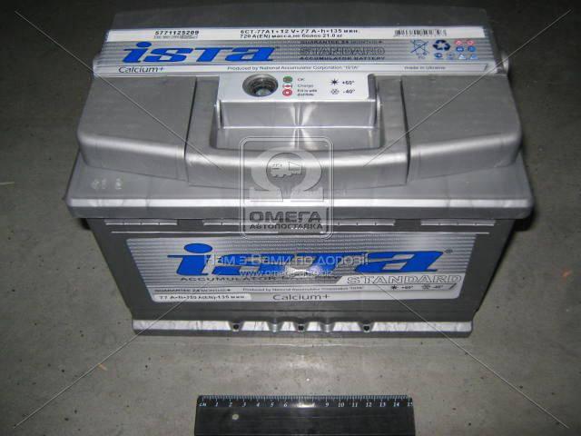 Аккумулятор ISTA Standard 6СТ-90Ач Евро R+ EN 760, фото 2