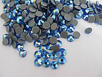 Термо-стразы Pellosa ss20 Sapphire AB 720шт (4,6-4,8мм)