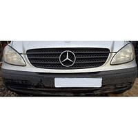 Бампер передний передній на Mercedes-Benz Vito (Viano) Мерседес Вито Виано  W 639 (109, 111, 115, 120)