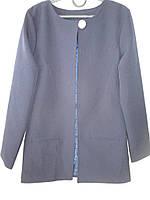 Удлиненные школьные пиджаки на осень., фото 1