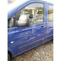 Двері передня ліва на Mercedes W Vito Viano 639 2003 2004 2005 2006 2007 2008 2009 2010 2011 2012 2013 2014, фото 1