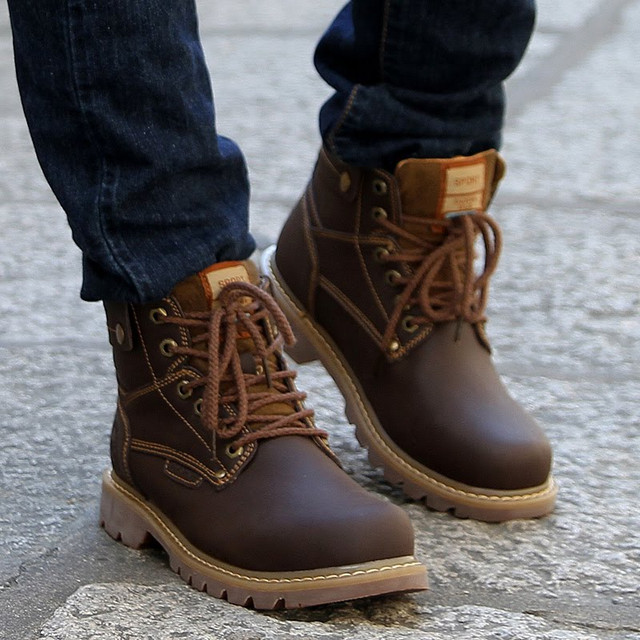 Зимние мужские ботинки от магазина  ''Brogue Shop''