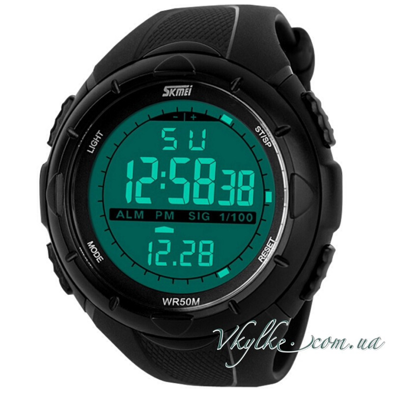 Спортивные часы Skmei Military Dive (1025) черные