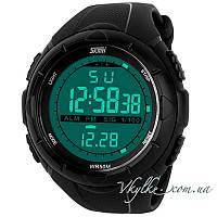 Спортивные часы Skmei Military Dive (1025) черные, фото 1