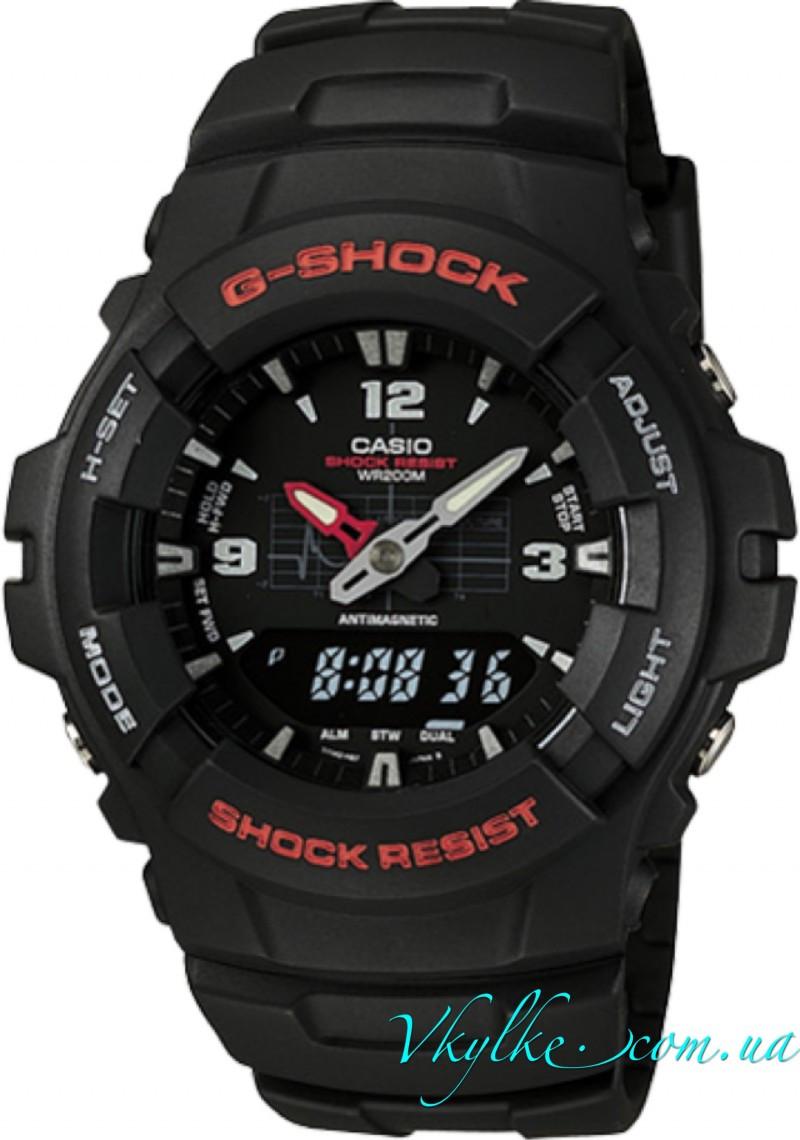 Часы Casio Original Men's G100-1BV G-Shock черные