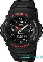 Часы Casio Original Men's G100-1BV G-Shock черные, фото 1