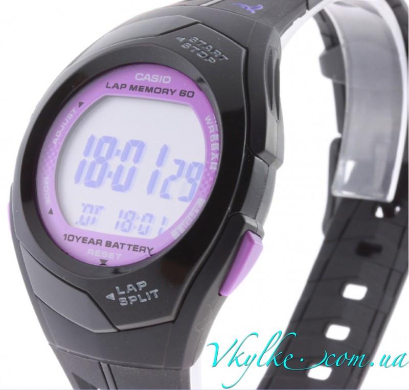 Годинник Casio Original women's STR300-1C Runner чорні