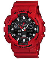 Часы Casio Original G-SHOCK GA-100B-4AER красные, фото 1