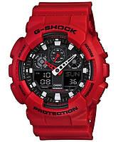 Часы Casio Original G-SHOCK GA-100B-4AER красные