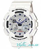 Часы Casio Original G-Shock GA-100A-7AER белые, фото 1