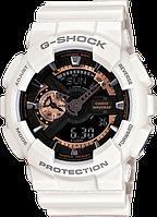 Часы Casio Original G-Shock GA110RG-7A белые с черным, фото 1