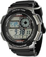 Часы Casio Original AE-1000W-1B черные с серым