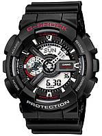 Часы Casio Original G-Shock GA-110-1AER черные с красным