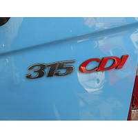 Хромированные накладки, буквы на Mercedes-Benz Sprinter, Мерседес Спринтер 906 (313, 315,318)
