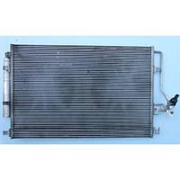 Радиатор кондиционера на Mercedes-Benz Sprinter, Мерседес Спринтер 906 (313, 315, 318)