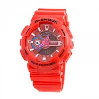 Мужские часы Casio G-Shock GA-110 красные
