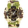 Спортивные мужские часы Casio G-Shock GA-110 хаки