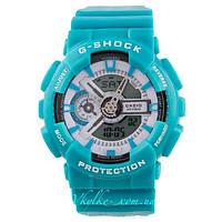 Мужские часы Casio G-Shock GA-110 бирюзовые
