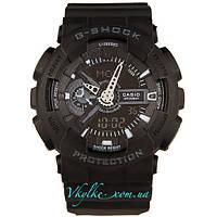Мужские часы Casio G-Shock GA-110 черные, фото 1