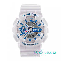 Мужские часы Casio G-Shock GA-110 белые, фото 1
