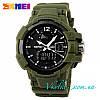 Мужские спортивные часы Skmei Shock Resistant зеленые