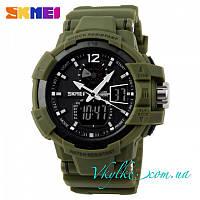 Мужские спортивные часы Skmei Shock Resistant зеленые, фото 1
