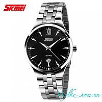 Класические часы Skmei 9071 черные
