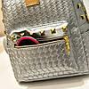Маленький рюкзак с заклепками 3002-1, фото 3