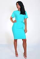 Женское платье с украшением на горловине, фото 1