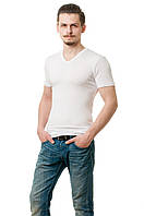 Мужская футболка белая классика