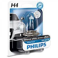 Галогенная лампа Philips White Vision H4 12V (12342WHVB1)