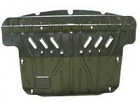 Защита картера двигателя, радиатора + крепеж для Nissan Pathfinder IV '12-, V-2,5 D; 3,5, АКПП (Кольчуга)