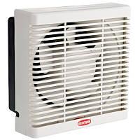 Осевой реверсивный оконный вентилятор с механическими жалюзи BPP 15