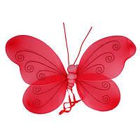 Крылья бабочки, большие красные