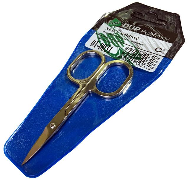 Ножницы маникюрные DUP (ногтевые) прямые