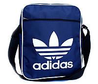 Большая мужская сумка через плечо Adidas (П-10)