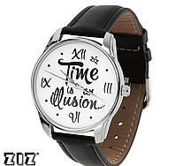 """Прикольные наручные часы """"Иллюзия времени"""" ZIZ (Украина)"""