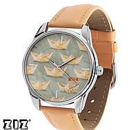 """Прикольные наручные часы """"Кораблики"""" ZIZ (Украина)"""