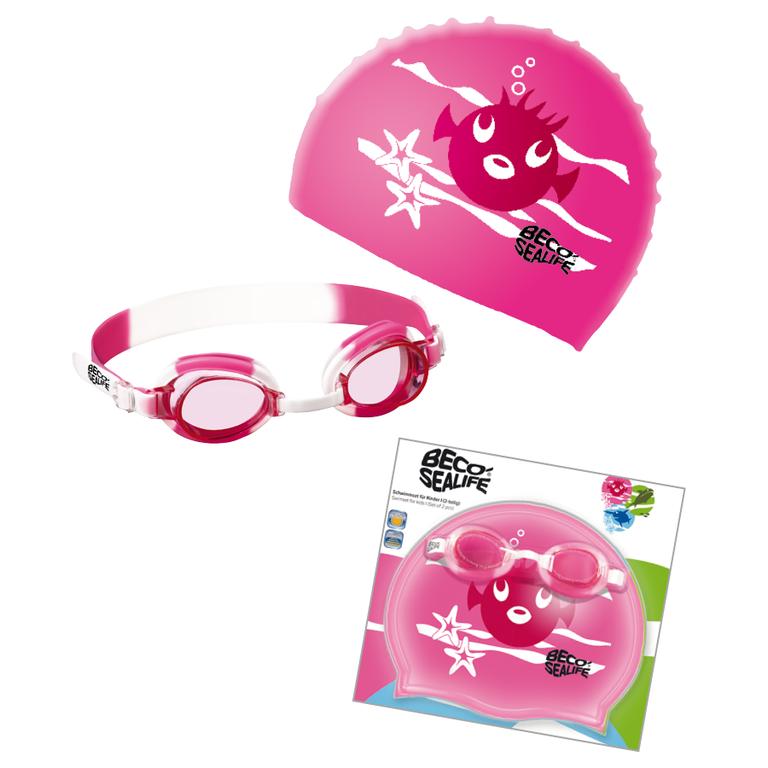 Дитячий набір для плавання Beco Sealife® I рожевий 96059 4