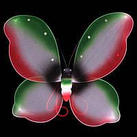 Крылья бабочки, разноцветные
