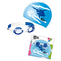 Детский набор для плавания Beco Sealife® I синий 96059 6